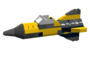 Yellow Classic Rocket