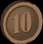 Pre-Alpha Bronze Coin ''10''