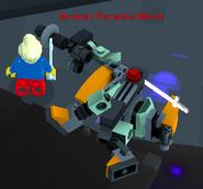Alpha Broken Paradox Mech