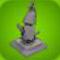 Fish Statue Model