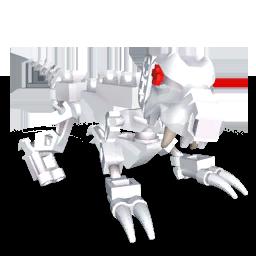 Bone Wolf Render
