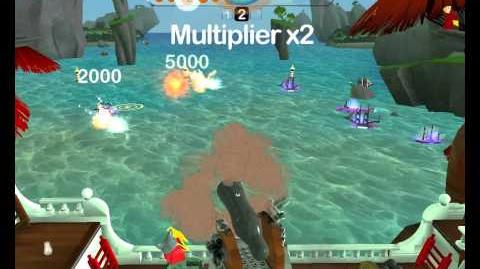 LEGO Universe Beta Cannon Cove Shooting Gallery