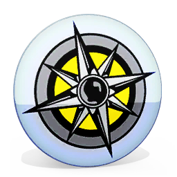 Mission compass collectable