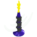 Skeleton Lamp Stand Model