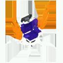 Skeleton Throne Model