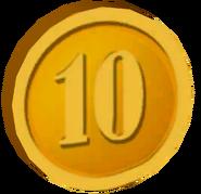 Pre-Alpha Gold Coin ''10''