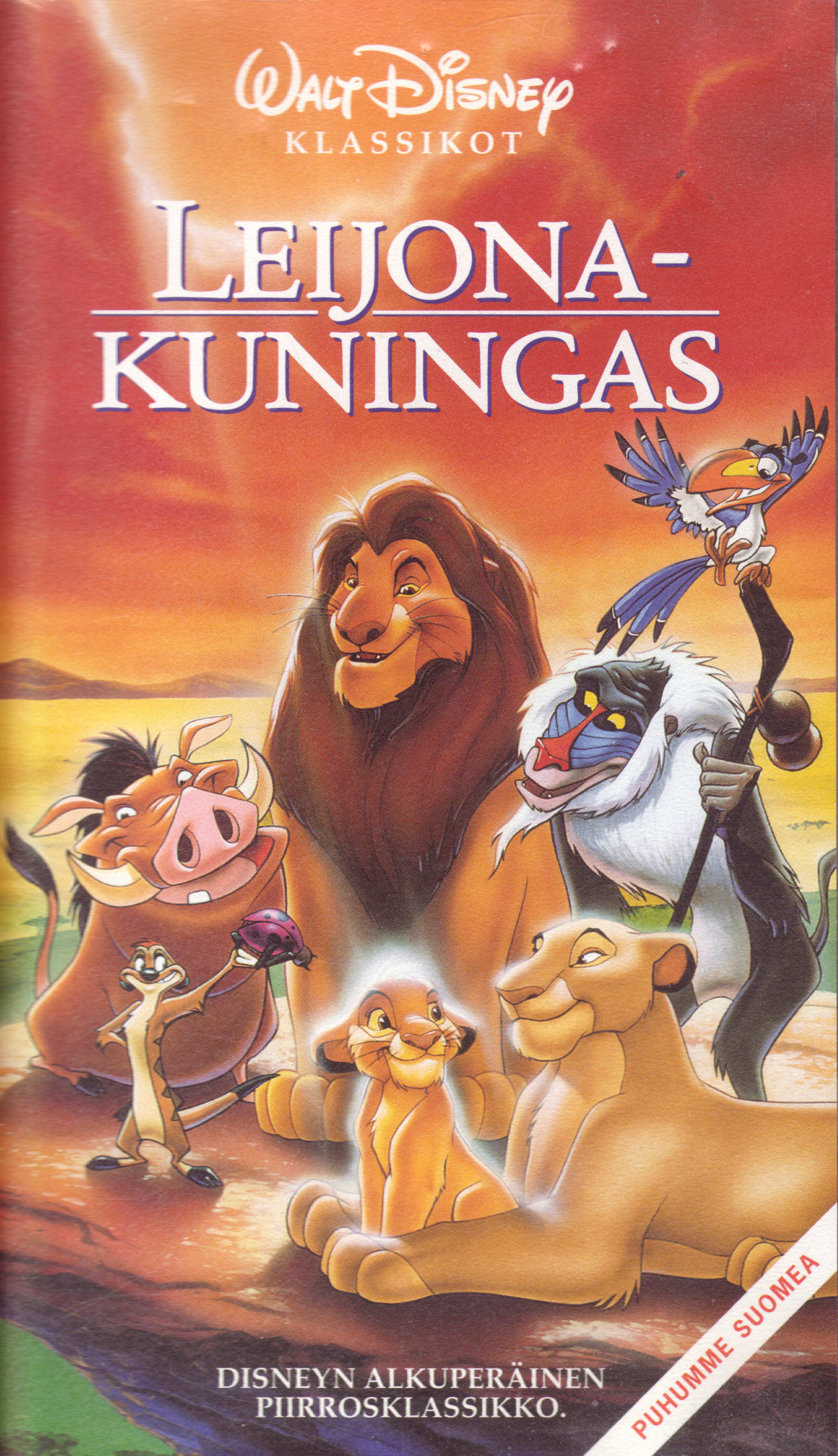Leijonakuningas Elokuva