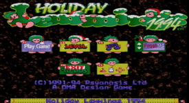 HolidayLemmings94 Title