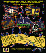 Lemmings BackCover