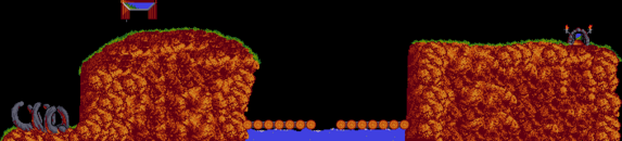 Lemmings TrickyLevel3