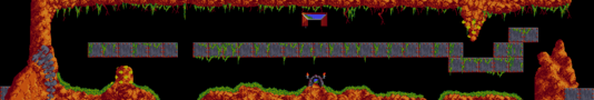 Lemmings TrickyLevel9