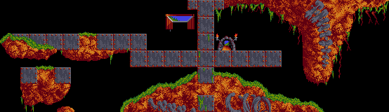 Lemmings MayhemLevel12