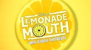 Cartão de Título Lemonade Mouth Branco