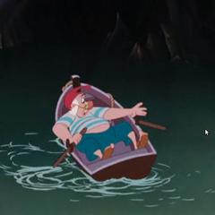 Mouche se presse pour sauver le Capitaine du Crocodile