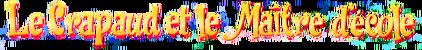 Le Crapaud et le Maître d'École (logo)