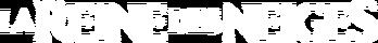 La Reine des Neiges (logo blanc)