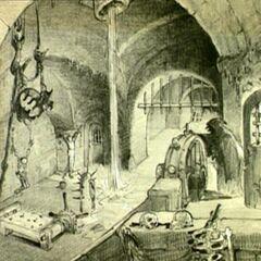 Une scène non réalisée avec la Sorcière torturant le Prince