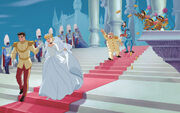 Disney Princess Cinderella's Story Illustraition 14