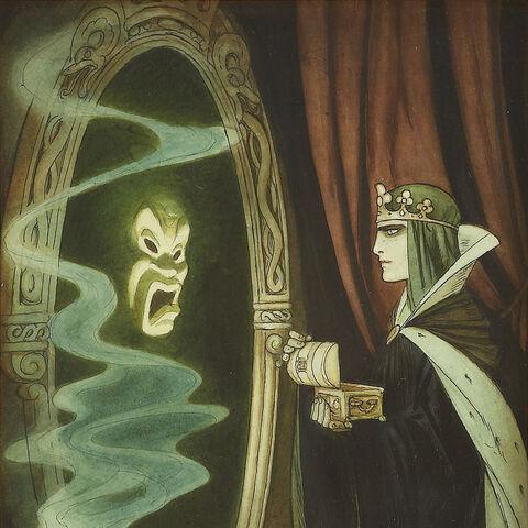 Le Miroir et la Reine illustrés par Gustaf Tenggren