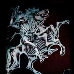 Sous l'aspect de deux cadavres squelettiques