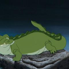 Le Crocodile, frustré de ne pas avoir eu un seul bout de Crochet à déguster