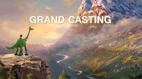 Le Voyage d'Arlo - Grand casting pour la voix d'Arlo