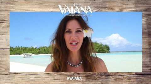 Vaiana, la légende du bout du monde - Mareva Galanter est Sina