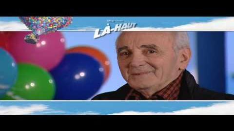 Là-haut - Making-of (Charles Aznavour)