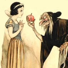 La Sorcière et Blanche-Neige illustrées par Tenggren