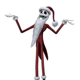 Jack déguisé en Père Noël dans <i>Kingdom Hearts II</i>