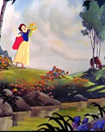 Foret Blanche Neige Disney Wiki Fandom