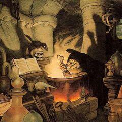 La Sorcière illustrée par Gustaf Tenggren