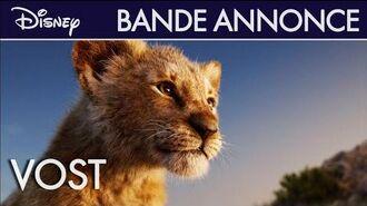 Le Roi Lion (2019) - Bande-annonce (VOST)
