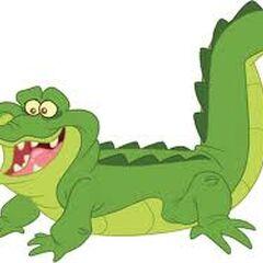 Le Crocodile dans <i>Jake et les pirates du Pays imaginaire</i>