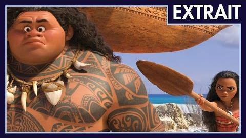 Vaiana, la légende du bout du monde - Extrait La rencontre de Vaiana et Maui