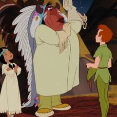 Peter, Lili et son père.