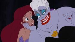 Ursula avec ariel