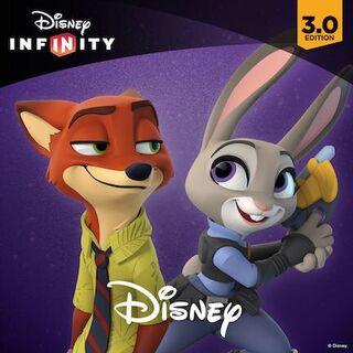 Judy avec Nick Wilde.
