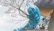 Chenille Bleue Alice au pays des merveilles 2010