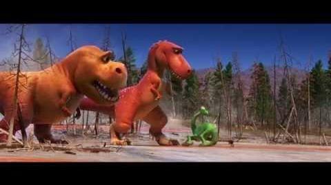 Le Voyage d'Arlo - Extrait T-Rex