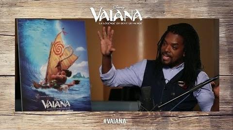 Vaiana, la légende du bout du monde - Anthony Kavanagh est Maui