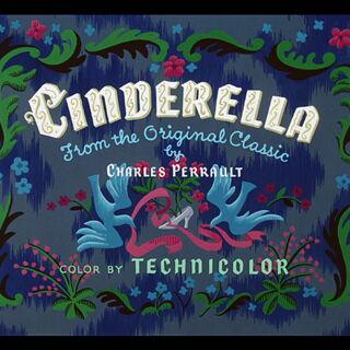Cendrillon (Cinderella) chanson de générique interprété par le chœur.