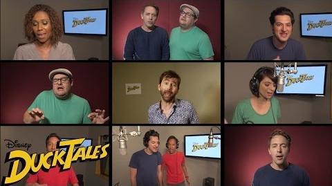 DuckTales Le casting chante le générique