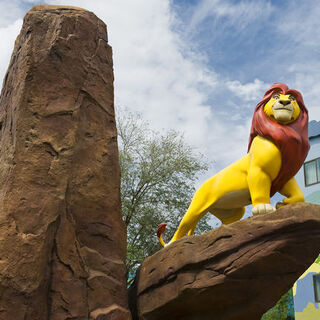 Mufasa aux Disney's Art of Animation Resort