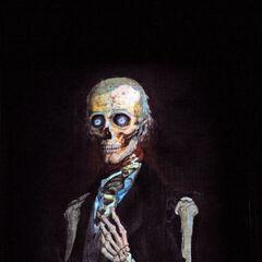 Qui se décompose pour ressembler à un squelette