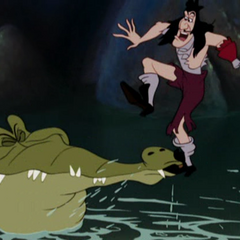 Le Crocodile mord le pied de Crochet
