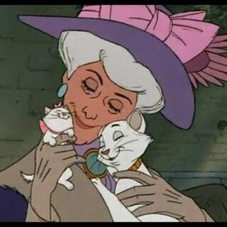 Duchesse dans les bras de Madame Adelaïde