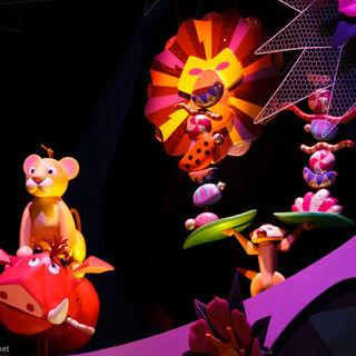 Masque de Mufasa à Disneyland Hong-Kong