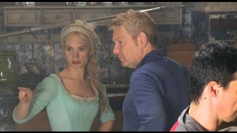 Cinderella (2015) Behind the Scenes - Lily James, Hayley Atwell, Helena Bonham Carter