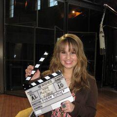 Image du tournage (Debby Ryan)